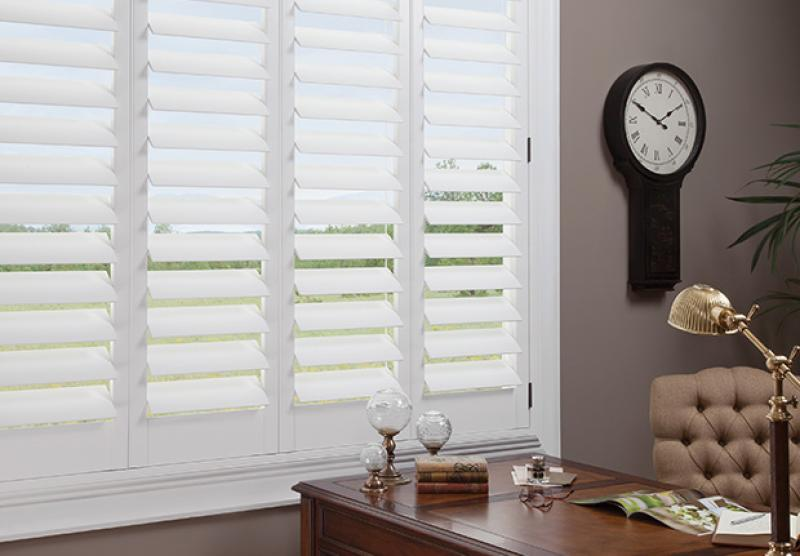 NewStyle Hunter Douglas Hybrid Shutters