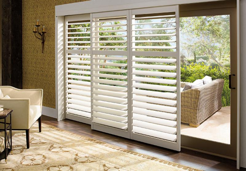Hunter Douglas Palm Beach Faux Wood shutters