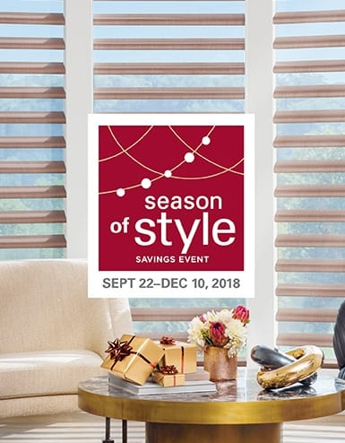 Red Star Paint 2018 Q4 Style of Season Hunter Douglas Promotion in Montclair, New Jersey (NJ)
